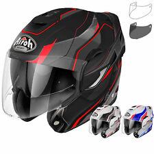 Airoh Rev Revolution Flip Front Motorcycle Helmet & Visor Modular Touring Bike