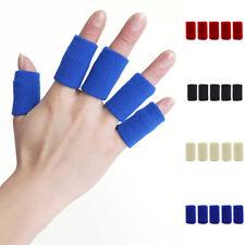 10pc/set Sport Finger Splint Guard Bandage Support Breathable Fingerstall Sleeve