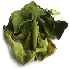 Kaffir Lime Leaves Dried  Premium Quality Thai Cusine Markut Lime Free UK P&P