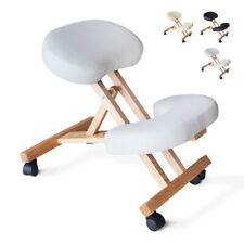 Chaise orthopédique de bureau en bois confortable siège ergonomique BALANCEWOOD