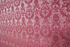Design Teppich mit Rutschfeste Unterlage Baumwolle mit Sari Rot ca 156 x 120 cm