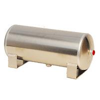 3 Gallon Aluminum Air Tank 3-1/2 NPT Ports Air Ride Bagged Train Horn Compressor
