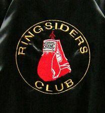 Vintage Boxing Women's Jacket  Size XS Glove Logo Ringsiders Club Forum MMA UFC