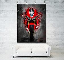 Leinwand Bild Honda CBR1000RR Fireblade  Modern Abstrakt Motorrad Wandbild