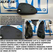 COVER GUSCIO 2 TASTI PER CHIAVE TELECOMANDO ALFA 147 COME DA FOTO- LEGGERE BENE