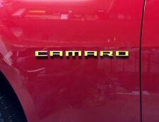 Fender Emblem Overlay Decals (pair) - 2010-2015 Camaro