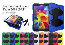 For Samsung Galaxy TabA 2016 (10.1) Heavy Duty Shock Proof Case/Screen Protector