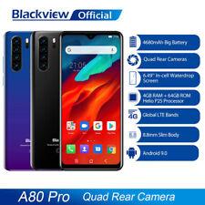 "Blackview A80 Pro 4G+64GB Handy Smartphone 6,49"" Face ID 13MP Quad Hinten Kamera"