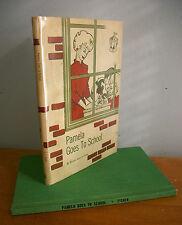 Pamela Goes To School by Miriam Scharfe Fisher, 1962 Praying Mantis Story in Dj