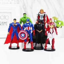 6 Types PVC AVENGERS Action Figures Super Heroes Kids Children's Toys