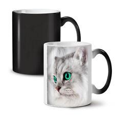 Nuevo Bonito Gatito Peluche Gato Mascota de cambio de color té café taza 11 OZ (approx. 311.84 g) | wellcoda
