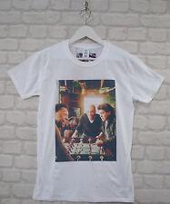 Uptown Classics Maradona Pele Zidane Football Soccer White Crew Neck Tee T-shirt