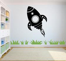 Rocket Bambini Stanza Bambini Home Adesivi per Decalcomania Murale ARTE Ragazzi/Ragazze Camera CH8