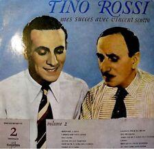 TINO ROSSI succés avec vincent scotto VOL2 LP33T VG++