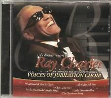 1025 // RAY CHARLES VOICES OF JUBILATION 120 CHORISTES DERNIER BOITIER FENDU