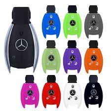 Mercedes clave cover car key auto Silicona Funda protectora a b c e g V Clase S