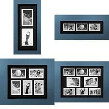Photo Frame Black Plastic Frame Modern Stylish Lightweight Decor Hangs Both Way