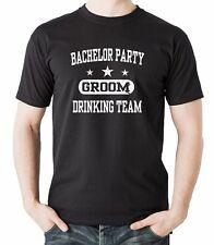 Bachelor Party Groom Drinking Team Best Man T-shirt Wedding T-shirt