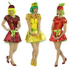 Kirschen Erdbeeren Zitronen Haarreif Kostüm Kleid Damen Früchte Obst Himbeeren