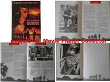 MEN OF WAR - D.Lundgren - C.Lewis - FRENCH PRESSBOOK