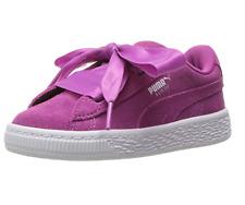 PUMA Kids' Suede Heart Sneakers, Rose Violet