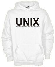 Felpa con cappuccio fun hoodie KD05 Computer Sistema operativo UNIX