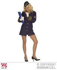 S4456 Hostess Costume di Carnevale Sexy Assistente Di Volo Hostess TGL S - L