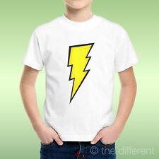 T-Shirt bébé Garçon Foudre Jaune Flash jaune Idée Cadeau