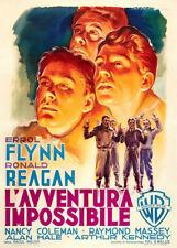 Desperate Journey 1950 Italian Movie Poster