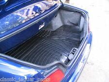 Peugeot 306 Cabriolet rubber boot mat liner options & bumper protector