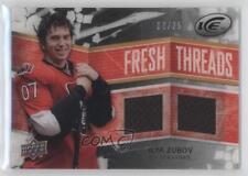 2008-09 Upper Deck Ice Fresh Threads PETG Black FT-IZ Ilya Zubov Ottawa Senators