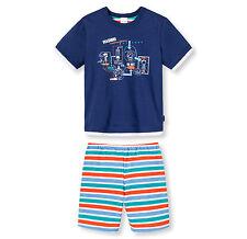 Schiesser Pijama Chico Pijama corto lavado 100% Algodón 104 116 128 140