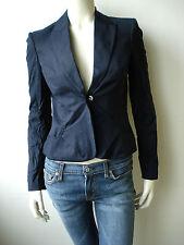 CNC Costume National Damen Jacket Jacke Mantel Blau XS M 34 38