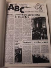 RIVISTA  ABC  1978-1982