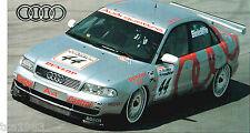 1996 AUDI A4/A-4 QUATTRO BTCC Super Touring SPEC SHEET / Brochure