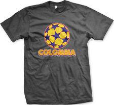 Colombia Colombian Flag Bandera Soccer Ball Futbol New Men's T-shirt