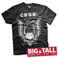 Officially Licensed CBGB & OMFUG- CBGB Amplifier 3XL,4XL,5XL Men's T-Shirt