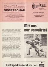 BL 88/89 FC Bayern München-Borussia M`gladbach  (Blaue)