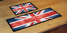 Personalised Union Jack Flag Great Britain Bar Mat Ideal For Pub Club Bar