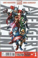 Lot of  Uncanny Avengers (2012) 1, 2, 4, 5, 7