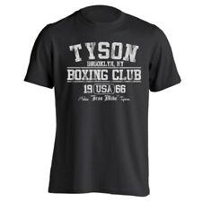 Tyson Boxing Club Retro  Iron Man  Mike  80S Black Basic Men's T-Shirt