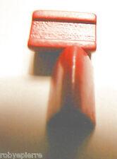 2 alberghi rossi Monopoli in lire vintage vecchio tipo albergo in legno gioco
