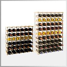 Weinregal für 6 bis 54*Flaschen Flaschenregal Flaschenständer METALL Holz RW-8-6