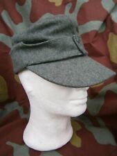 Cappello tedesco panno Feldmutze M43 Heer Elitè, German WW2 feldgrau field cap