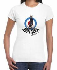 Northern Soul Dancer Mod Target Women's T-shirt - Motown Wigan Casino