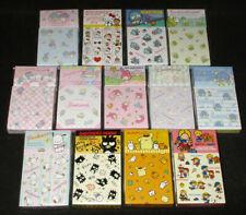 Japan Sanrio Characters Mix Memo & Sticker Seal Set