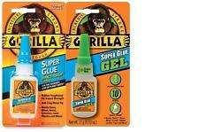 Gorilla Adhesive Bonding Super Glue - 15g Bottle - Various Types