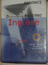 DIZIONARIO MODERNO INGLESE - GARZANTI - CON CD-ROM