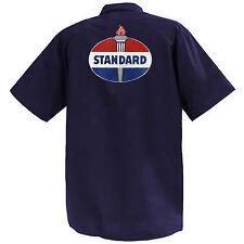 Standard Motor Oil - Mechanics Graphic Work Shirt  Short Sleeve