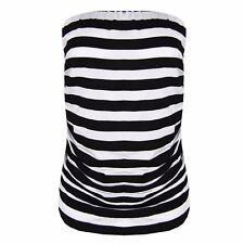 F26 NEW Women Ladies Ruched Bandeau Boob Tube Vest Crop Bra PLUS SIZE BRALET 08-